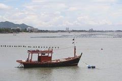 Small fishing boats. Stock Image