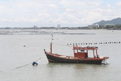 Small fishing boats. Royalty Free Stock Photo