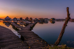 Small fishing cottages Royalty Free Stock Image