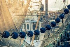 Small fishing harbor Stock Image