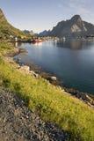 Small fishing port Reine, Lofoten Islands, Norway Royalty Free Stock Photo