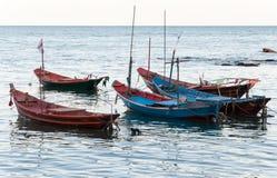 Small fishing rowboat Stock Image