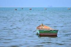Small fishing ship Royalty Free Stock Photos