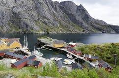 Small fishing village Royalty Free Stock Image