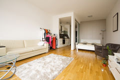 Small flat. Picture of a small modern flat Royalty Free Stock Image