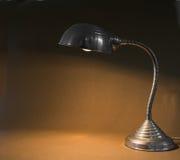 Small flexible metal lamp Stock Image
