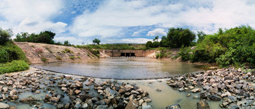 Small floodgate Stock Images