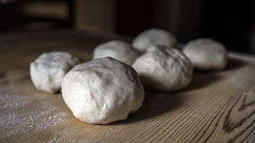 Small flour and water doughs Royalty Free Stock Photo