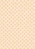 small flowers seamless on orange pastel background. Stock Photos
