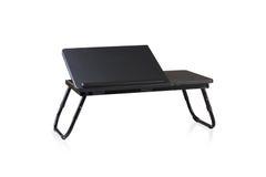 Small fold able table Stock Photos
