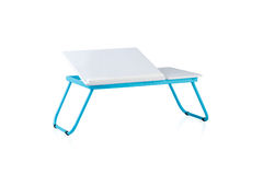 Small fold able table Royalty Free Stock Photography