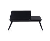 Small fold able table Stock Images