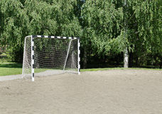 Small football gate Stock Image