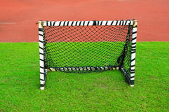 Small football goal Stock Photo