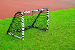 Small football goal Stock Photography