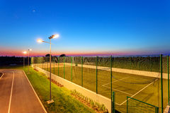 Small football pitch Stock Images