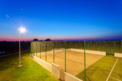 Small football pitch Stock Photography