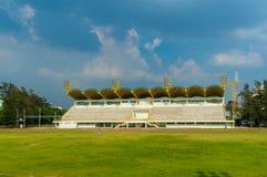 Small football stadium. Thailand Asia Stock Photo