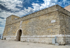 Small fort. Bari. Apulia. Royalty Free Stock Photography