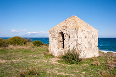 Small fort close to the beach Royalty Free Stock Photography