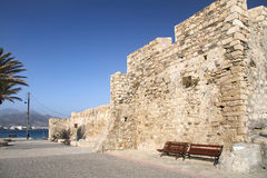 Small fortress Cales in Ierapetra. Crete Stock Photo