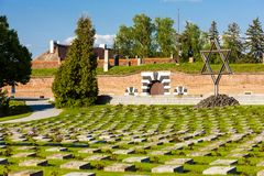 Free Small Fortress Theresienstadt With Cemetery, Terezin, Czech Repu Stock Image - 166971581