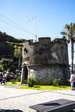 Small fortress type building in the Town of Ribeira Brava in the north of the Island of Madeira Stock Photo