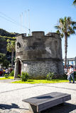 Small fortress type building in the Town of Ribeira Brava in the north of the Island of Madeira Royalty Free Stock Images