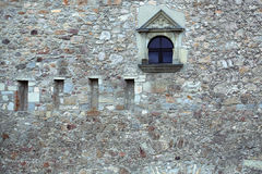 Small fortress window Stock Images