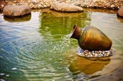 Small fountain Royalty Free Stock Photo