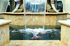 Small fountain at the Mall. A small beautiful fountain at the Mall Royalty Free Stock Image