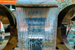 Small fountain at the Mall. A small beautiful fountain at the Mall Stock Photography