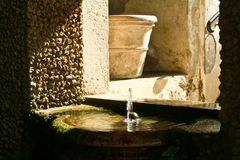 Small fountain Royalty Free Stock Images