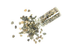Small fraction of crushed rock Stock Photo