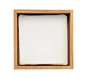 Small frame. With a Canvas Stock Image