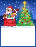 Small frame with Christmas theme 2 Stock Photos