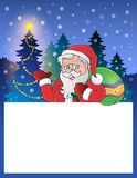 Small frame with Santa Claus 1 Royalty Free Stock Photos