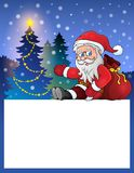 Small frame with Santa Claus 5 Royalty Free Stock Image
