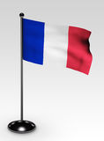 Small france flag clipping path Stock Images