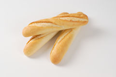 Small french baguettes Stock Photo