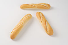 Small french baguettes Royalty Free Stock Photos
