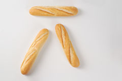 Small french baguettes Royalty Free Stock Images