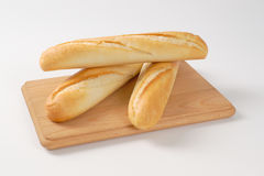 Small french baguettes Stock Photos