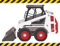 Small Front End Loader Stock Photography
