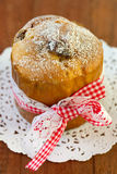 Small fruitcake Stock Image