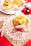 Small fruitcakes Stock Photography