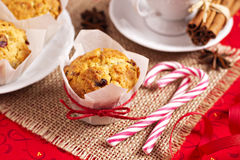 Small fruitcakes Stock Image