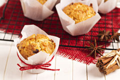 Small fruitcakes Stock Photos
