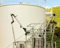A small fuel depot Stock Photo