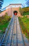 A small funicular in Graz stock photos